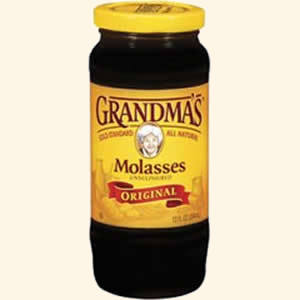 12 US Fluid Ounce Jar of Molasses