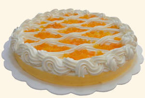 Orange Fruit Flan